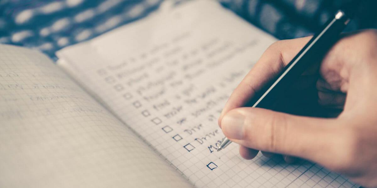 8-Step Finishing Checklist