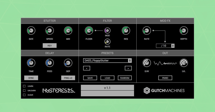 Gitchmachines Hysteresis Hyperbits Free Plugins for Music Producers