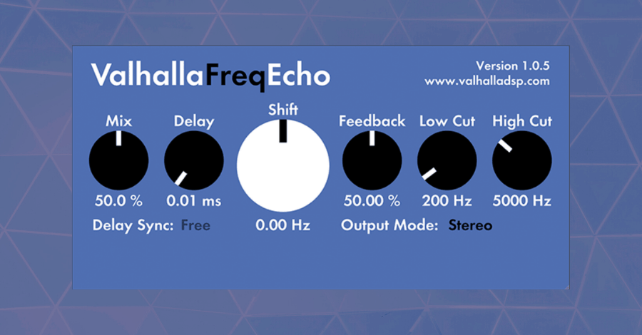 Valhalla Frequency Echo Reverb Free Plugins for Music Producers