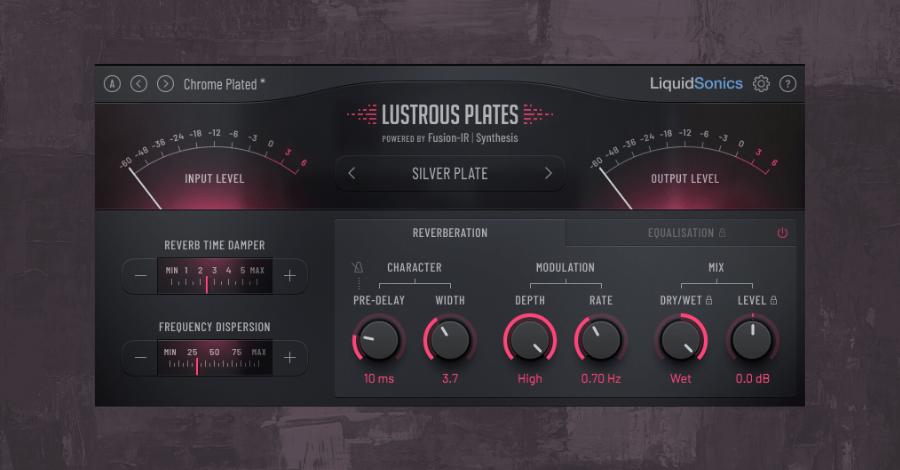 Best Reverb Plugins - Liquidsonics Lustrous Plates