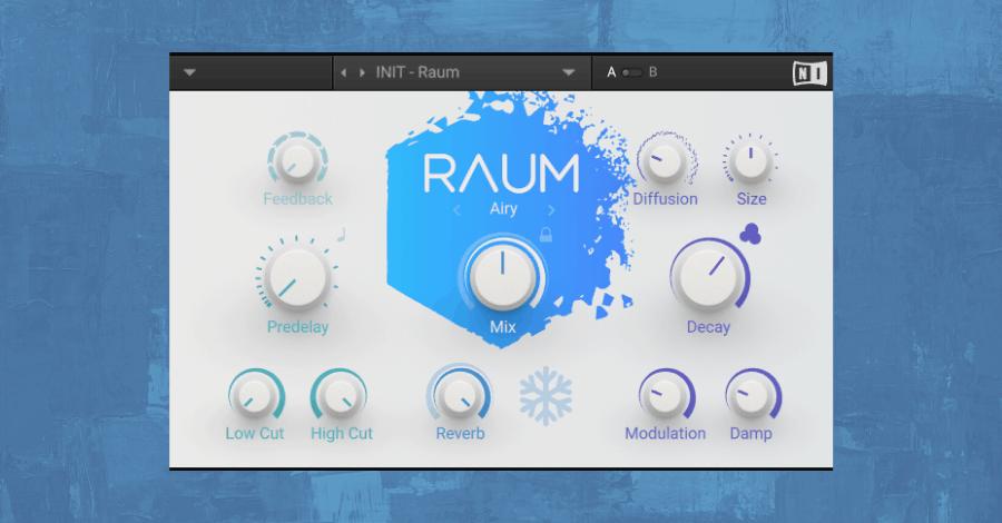 Best Reverb Plugins - Native Instruments Raum