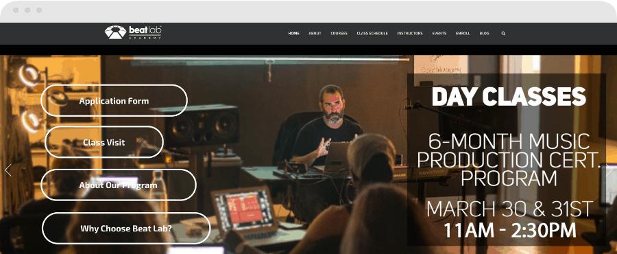 Best Music Production Schools - Beat Lab Academy