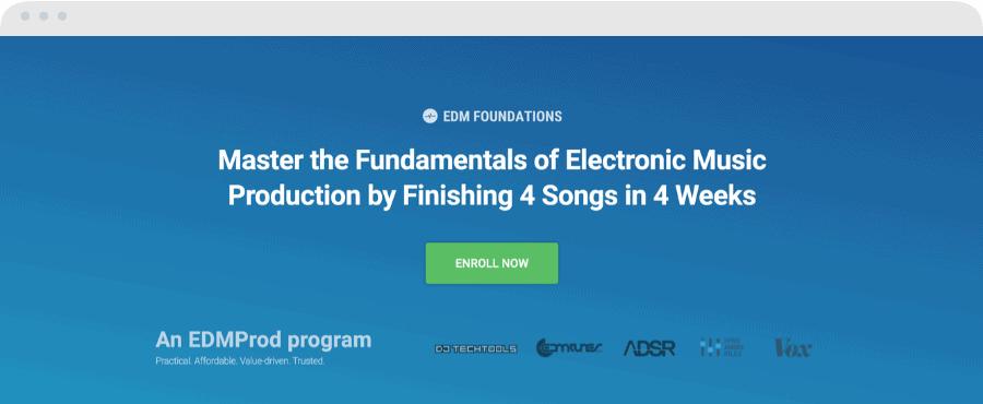 Best Music Production Schools - EDM Foundations
