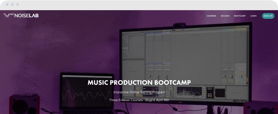 Best Music Production Schools - Noiselab