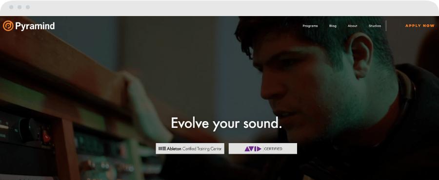 Best Music Production Schools - Pyramind