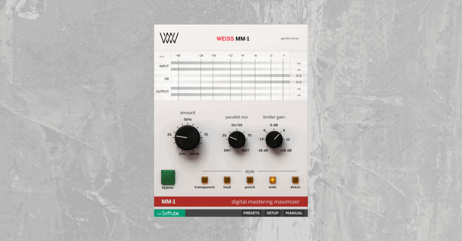 Stereo Image - Softube Weiss Maximizer