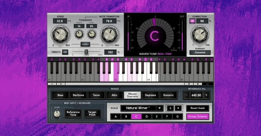 Autotune Plugins - Waves Tune Real Time