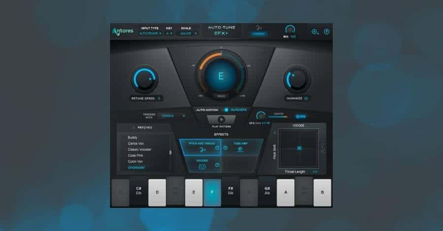 Vocoder - Antares EFX