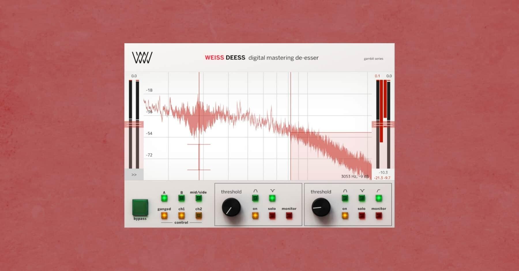 Best Mastering Plugins: Weiss De-Ess