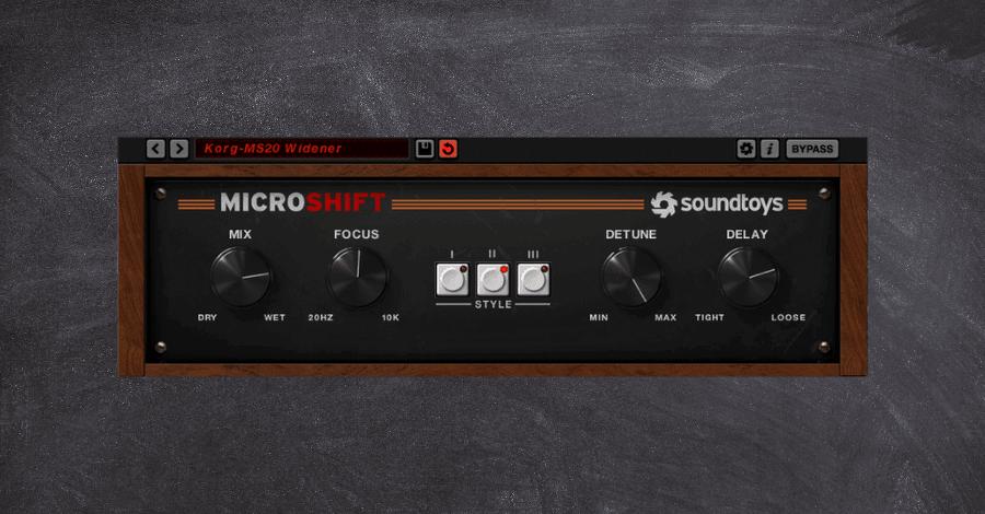Sountoys Microshift Korg