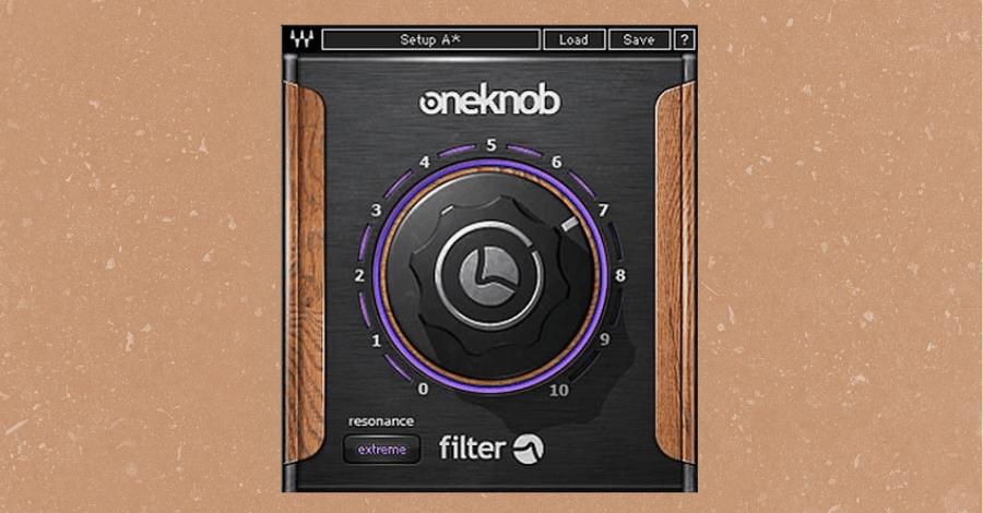 Filter Plugins - Waves OneKnob